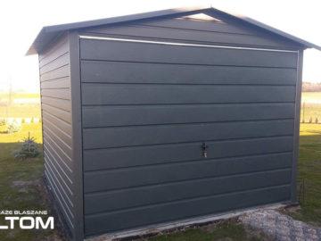 Garaż 3x3m   dwuspadowy   kolor RAL