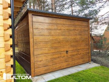 Garaż 3x5m | jednospadowy | drewnopodobny
