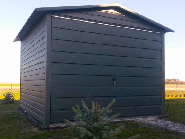 Garaż blaszany akrylowy Ultom