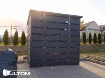 Wiata śmietnikowa 140×90 cm